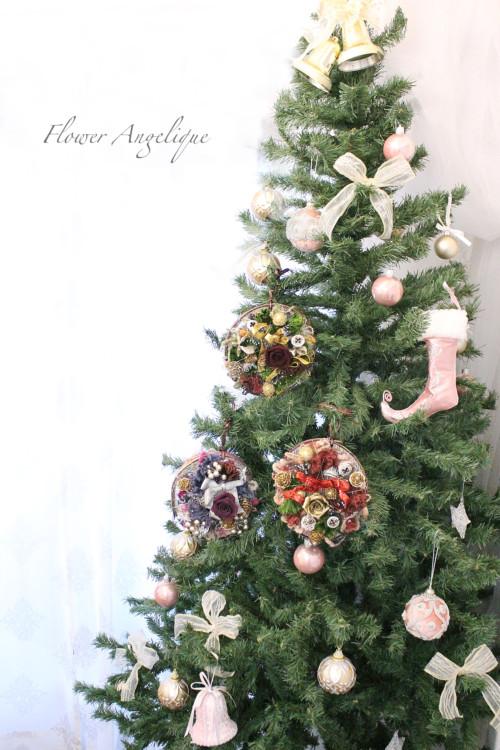 フラワーアンジェリクのクリスマスツリー