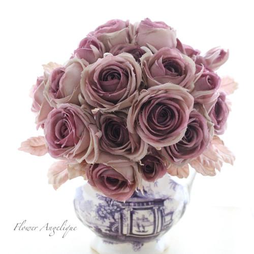 布花 薔薇 バラ ローズ アンティーク ブーケ 花束