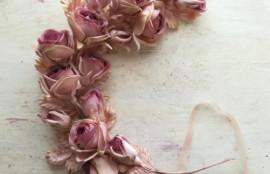 布花 薔薇 リース