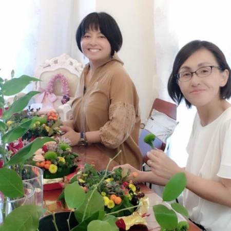 Ken's flower 平井堅 告白 フラワーアレンジメント レッスン 神戸 大阪 フラワーアンジェリク