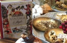 クリスマス レッスン準備 バシラーティー 紅茶 缶 神戸 フラワーアンジェリク