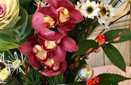 生花 お正月 正月花 おもてなしの花 レッスン 神戸 大阪 フラワーアンジェリク