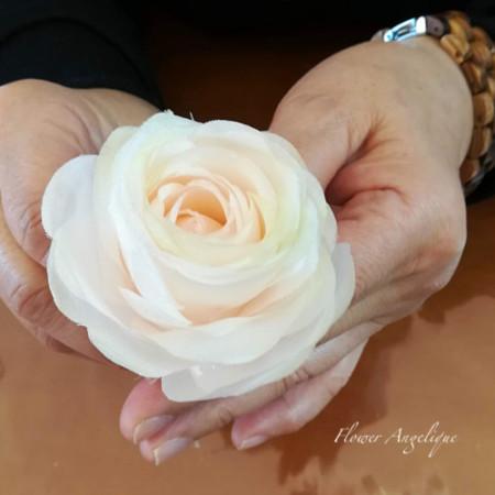 布花 シルク バラ 薔薇 ローズ ブライダルブーケ ウェディング レッスン 神戸 フラワーアンジェリク
