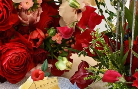 生花 アレンジメント スイトピー レッスン 神戸 フラワーアンジェリク