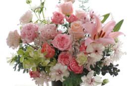 生花 アレンジメント お供え花 スプレーバラ インスパイア  神戸 フラワーアンジェリク