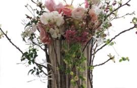 生花 アレンジメント 桜 レッスン 神戸 フラワーアンジェリク