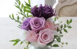仏花 お供え花 ブリザーブドフラワー レッスン 神戸 フラワーアンジェリク